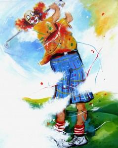 Golfer 3 leinen