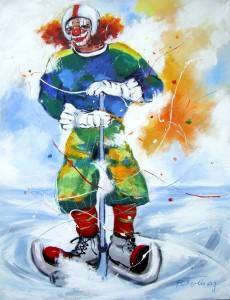 eishockey leinen